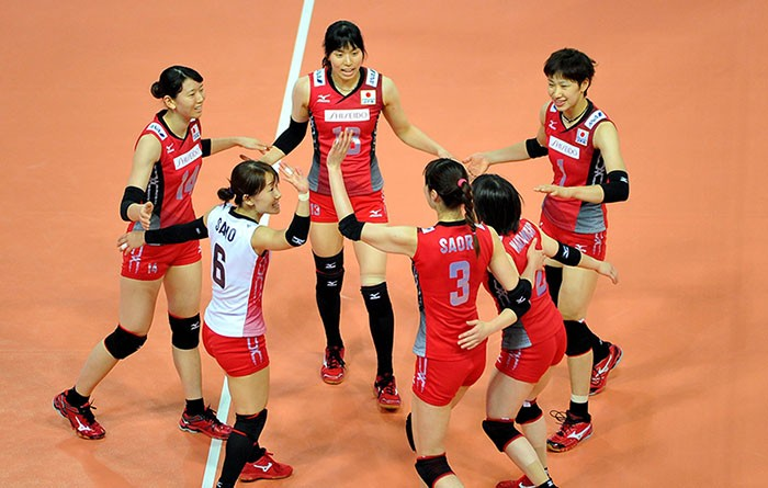 volleyball japan team