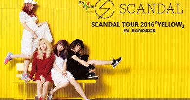 Cover Photo - TOYOTA It's Mine Presents SCANDAL TOUR 2016 「YELLOW」 in Bangkok (Final-2016.03.03)